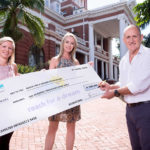 Reach for a dream cheque handover with Rodel